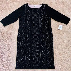 NWT Calvin Klein knit cut out design dress size 1x